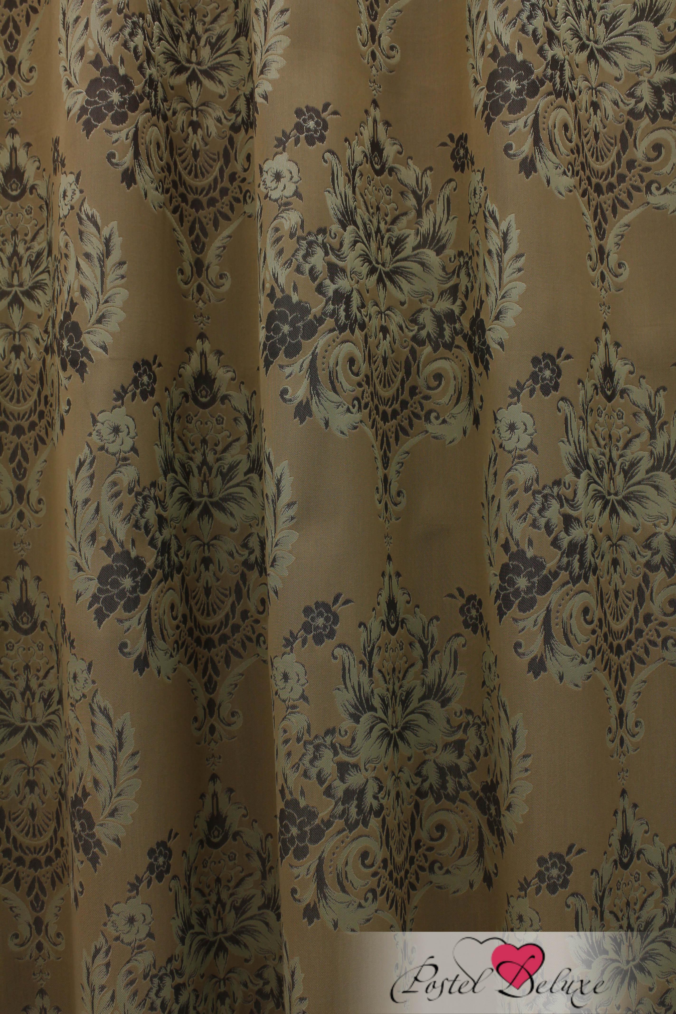 Шторы Sanpa Классические шторы Лесли Цвет: Зеленый шторы tac классические шторы winx цвет персиковый 200x265 см