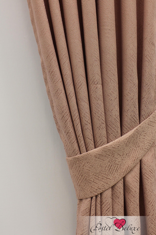 Шторы Sanpa Классические шторы Элси Цвет: Грязно-Розовый шторы tac классические шторы глянец цвет портьер розовый цвет тюля белый с бежевой полоской