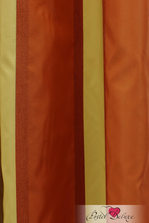 Шторы Sanpa Классические шторы Иветта Цвет: Терракотово-Золотой шторы tac классические шторы winx цвет персиковый 200x265 см