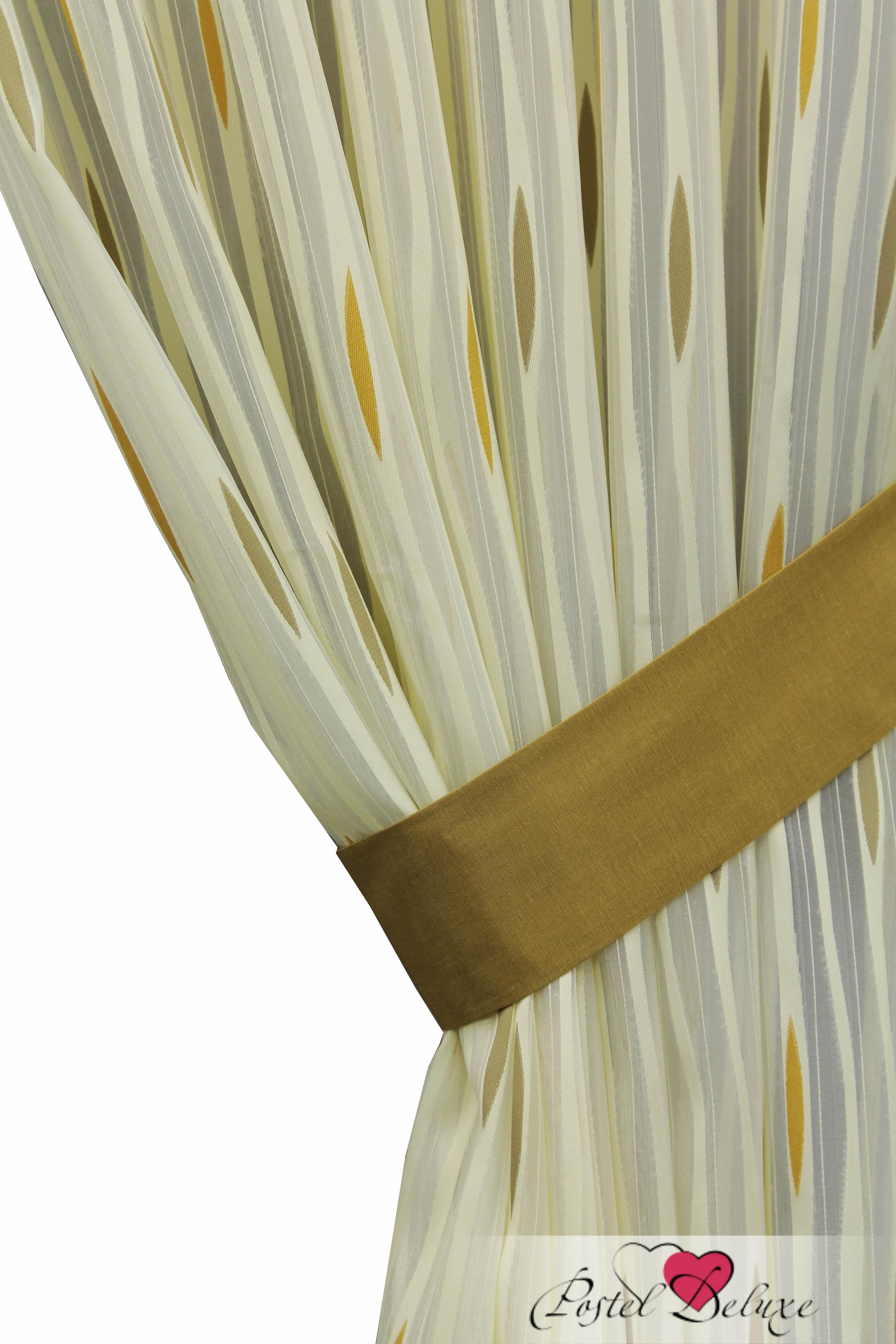 Шторы Sanpa Классические шторы Делис Цвет: Бежево-Оранжевый шторы tac классические шторы winx цвет персиковый 200x265 см