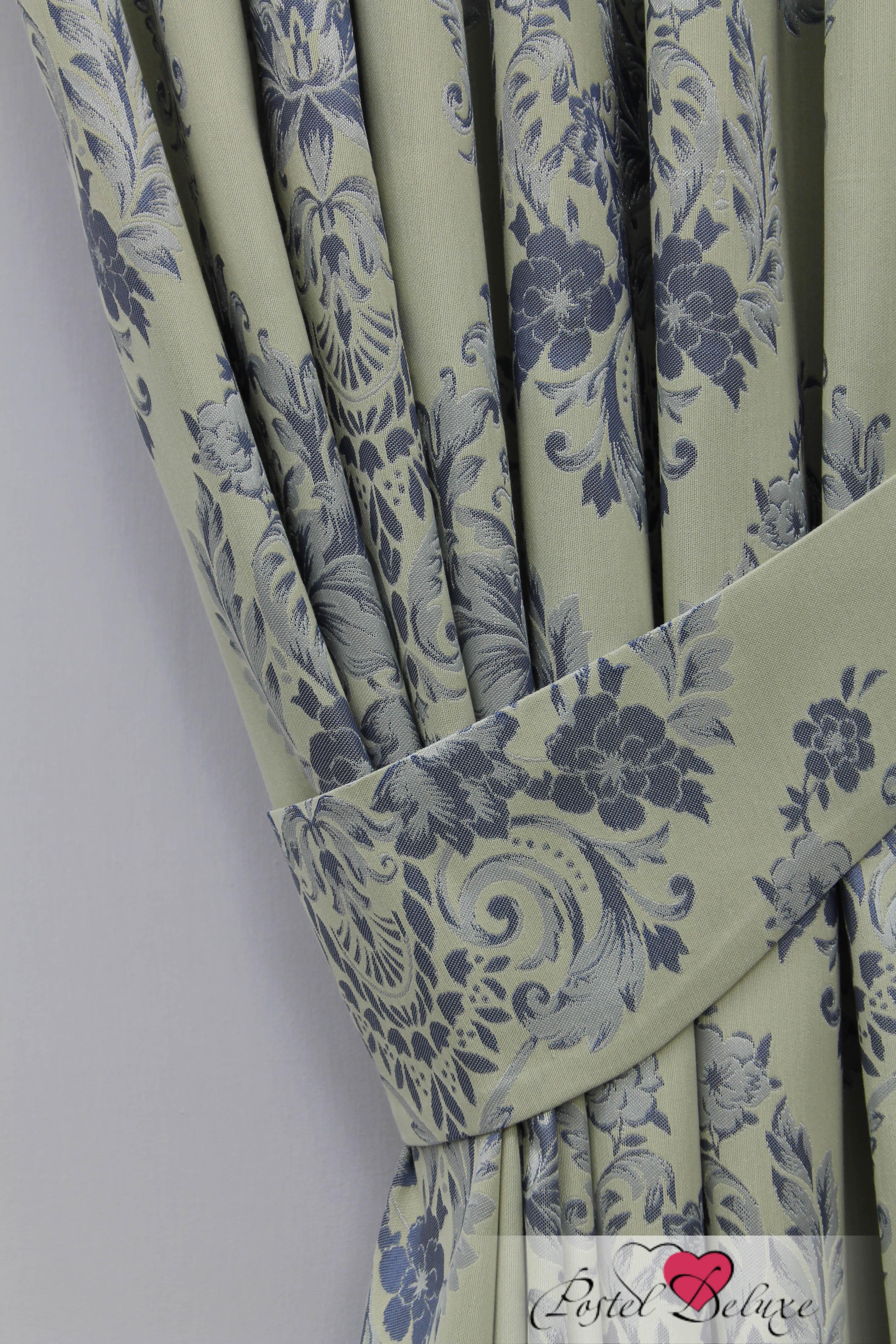 Шторы Sanpa Классические шторы Лесли Цвет: Голубой sanpa sanpa классические шторы квадро цвет голубой