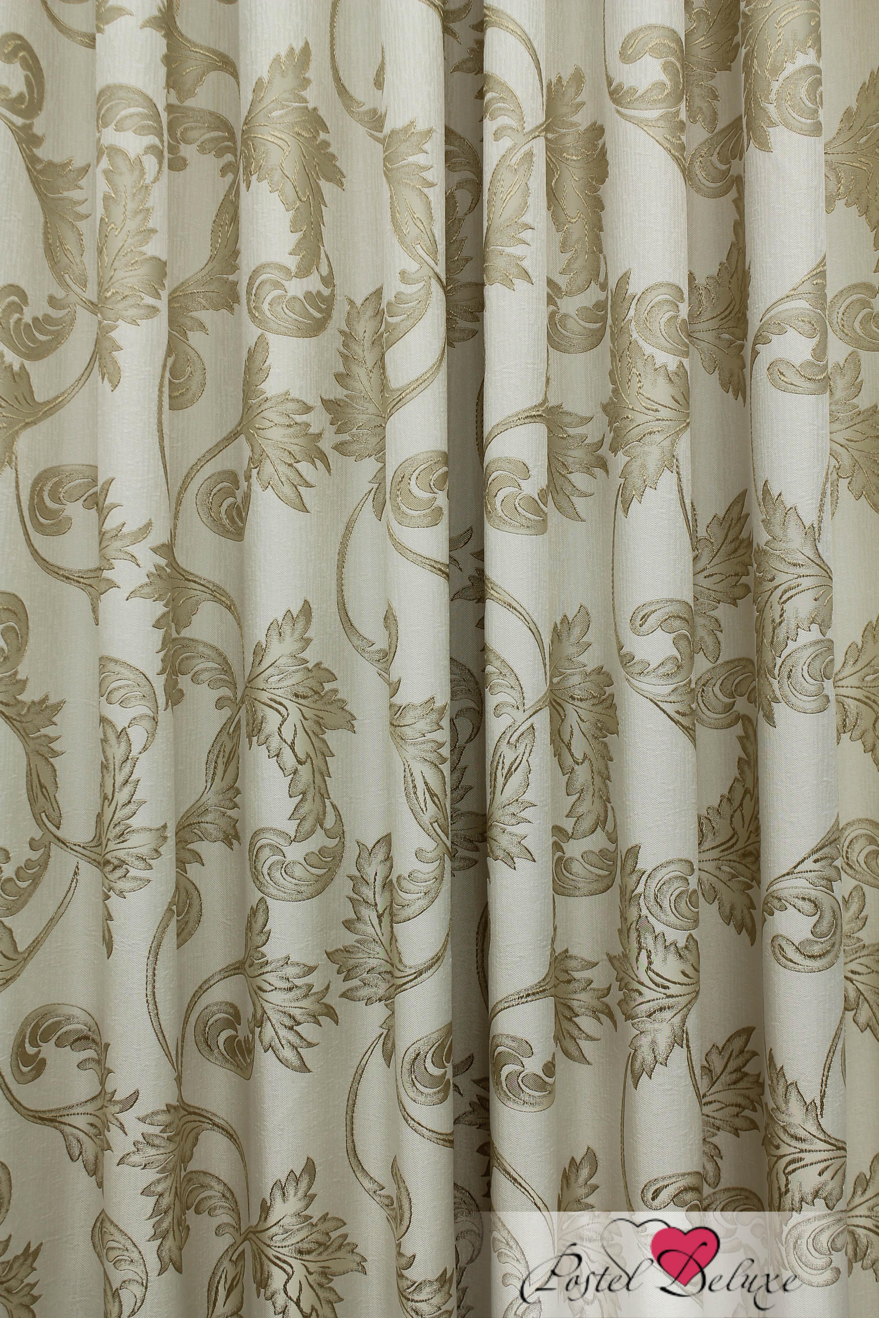 купить Шторы Sanpa Классические шторы Дебора Цвет: Бежево-Золотистый дешево
