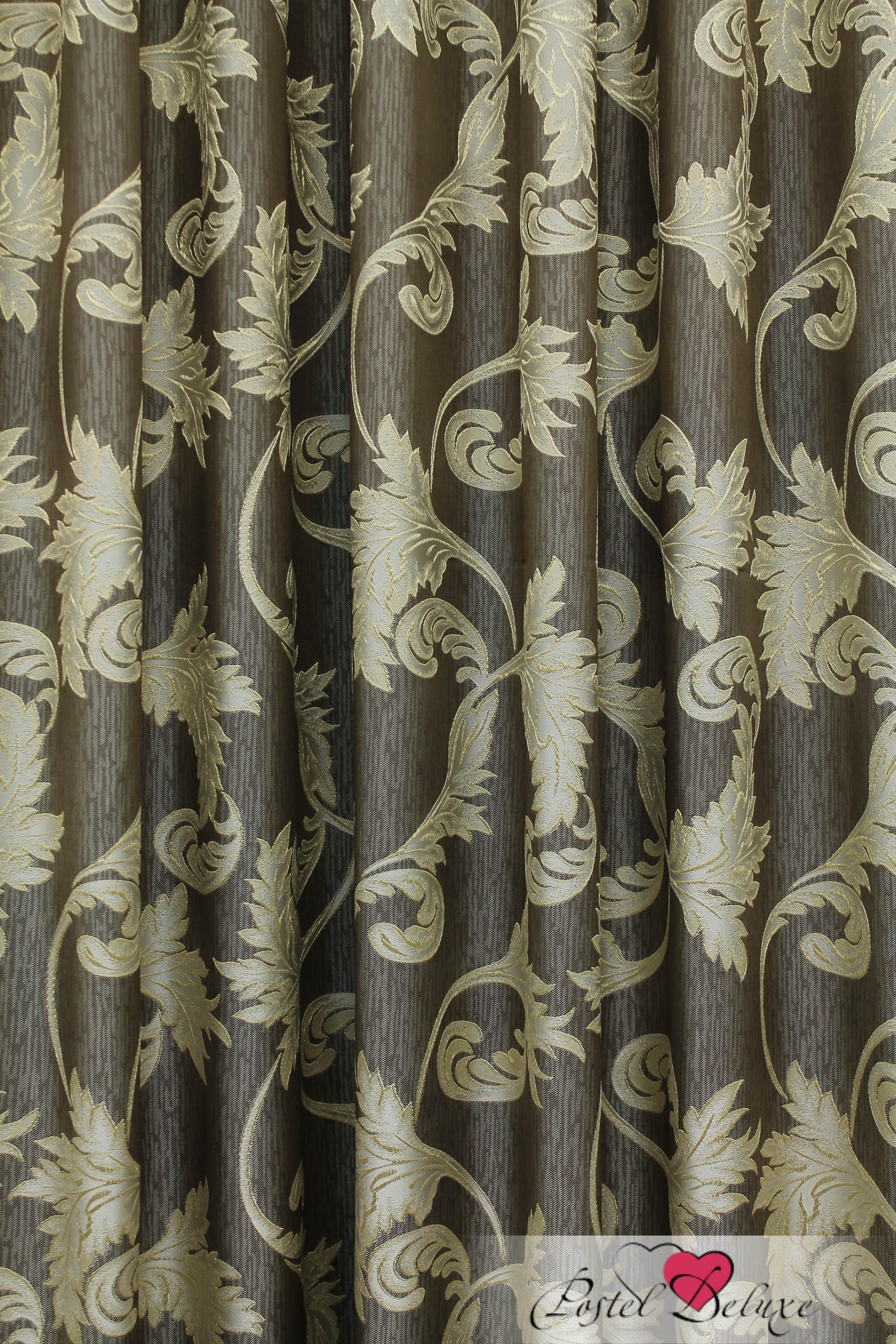 Шторы Sanpa Классические шторы Дебора Цвет: Золотисто-Коричневый шторы tac классические шторы winx цвет персиковый 200x265 см