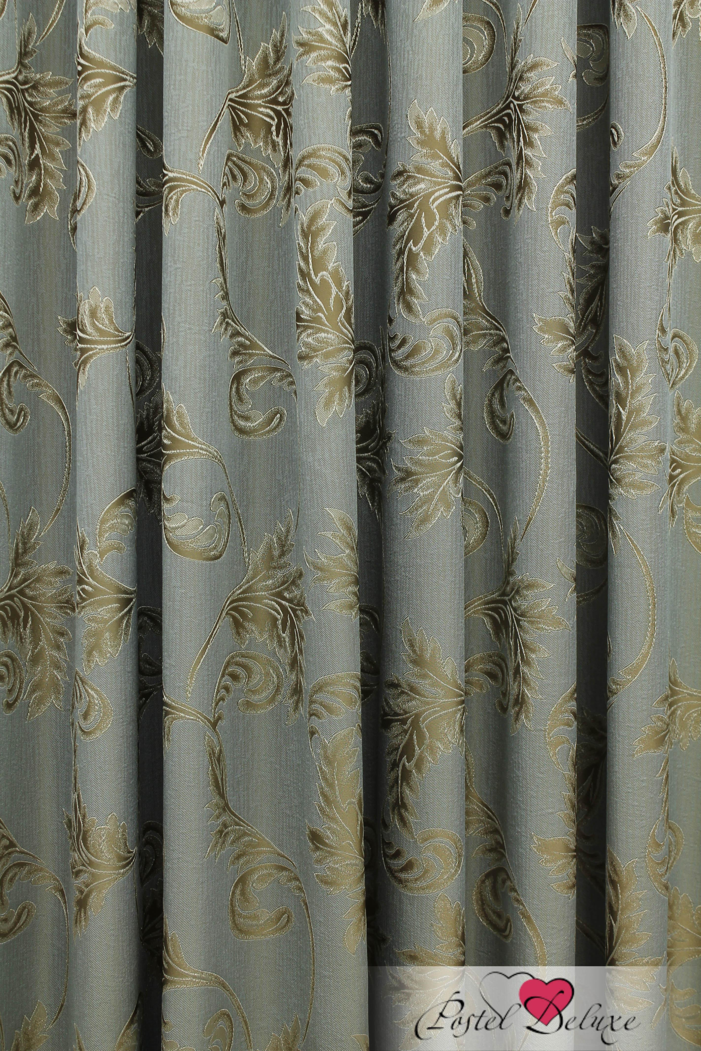 Шторы Sanpa Классические шторы Дебора Цвет: Золотисто-Бирюзовый шторы tac классические шторы winx цвет персиковый 200x265 см