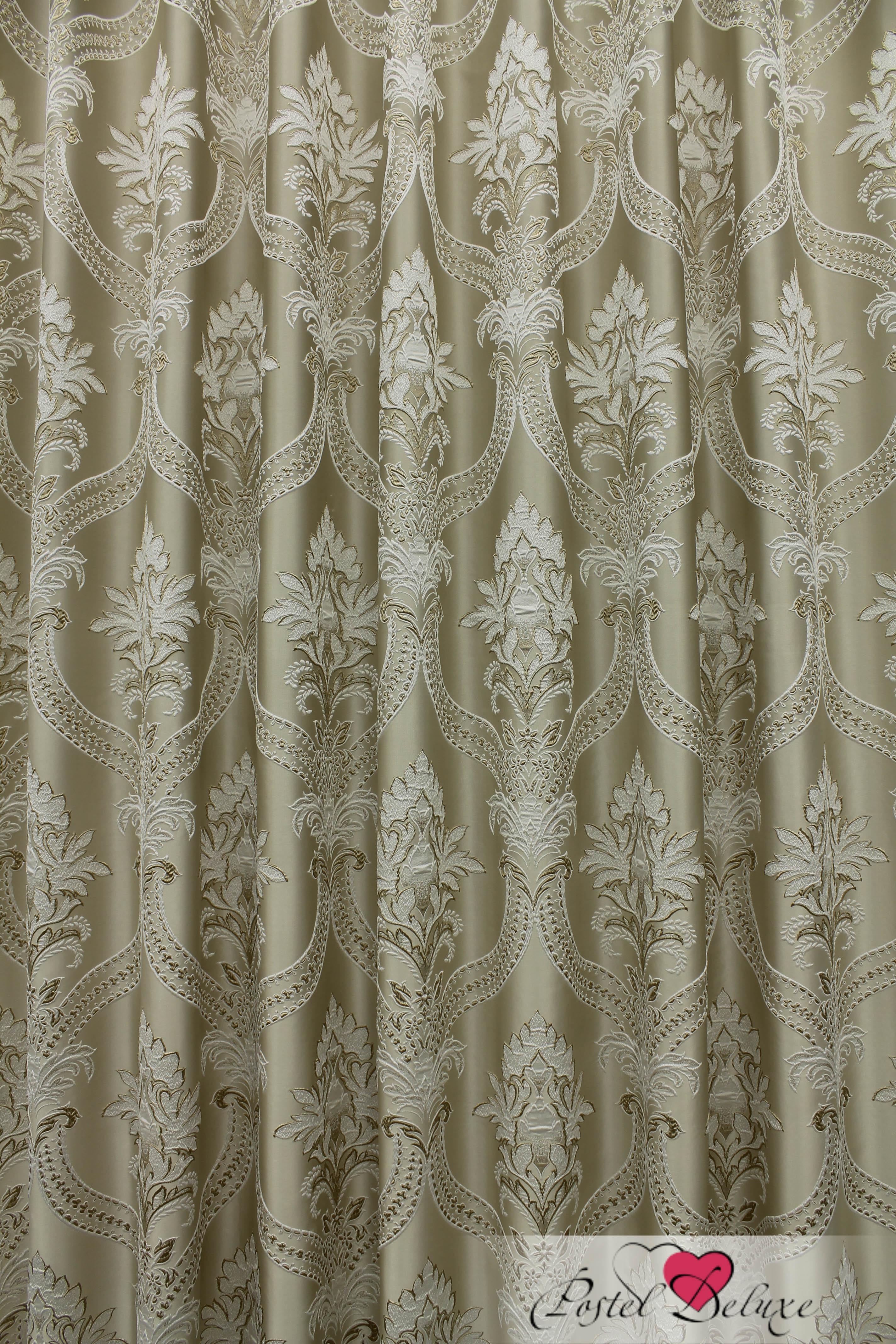 Шторы Sanpa Классические шторы Нанзия Цвет: Бежевый шторы tac классические шторы winx цвет персиковый 200x265 см