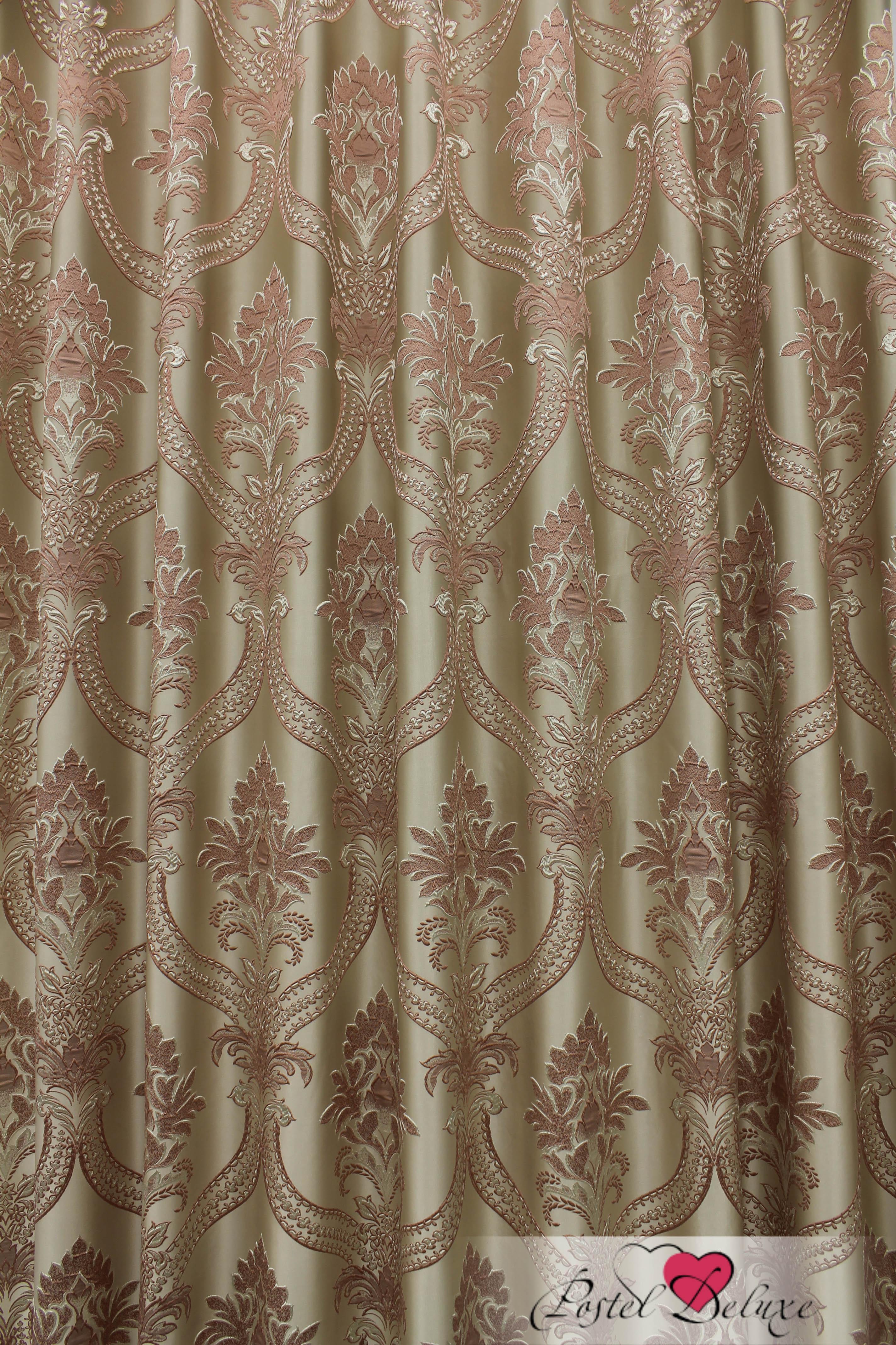 Шторы Sanpa Классические шторы Нанзия Цвет: Розовый шторы tac классические шторы глянец цвет портьер розовый цвет тюля белый с бежевой полоской