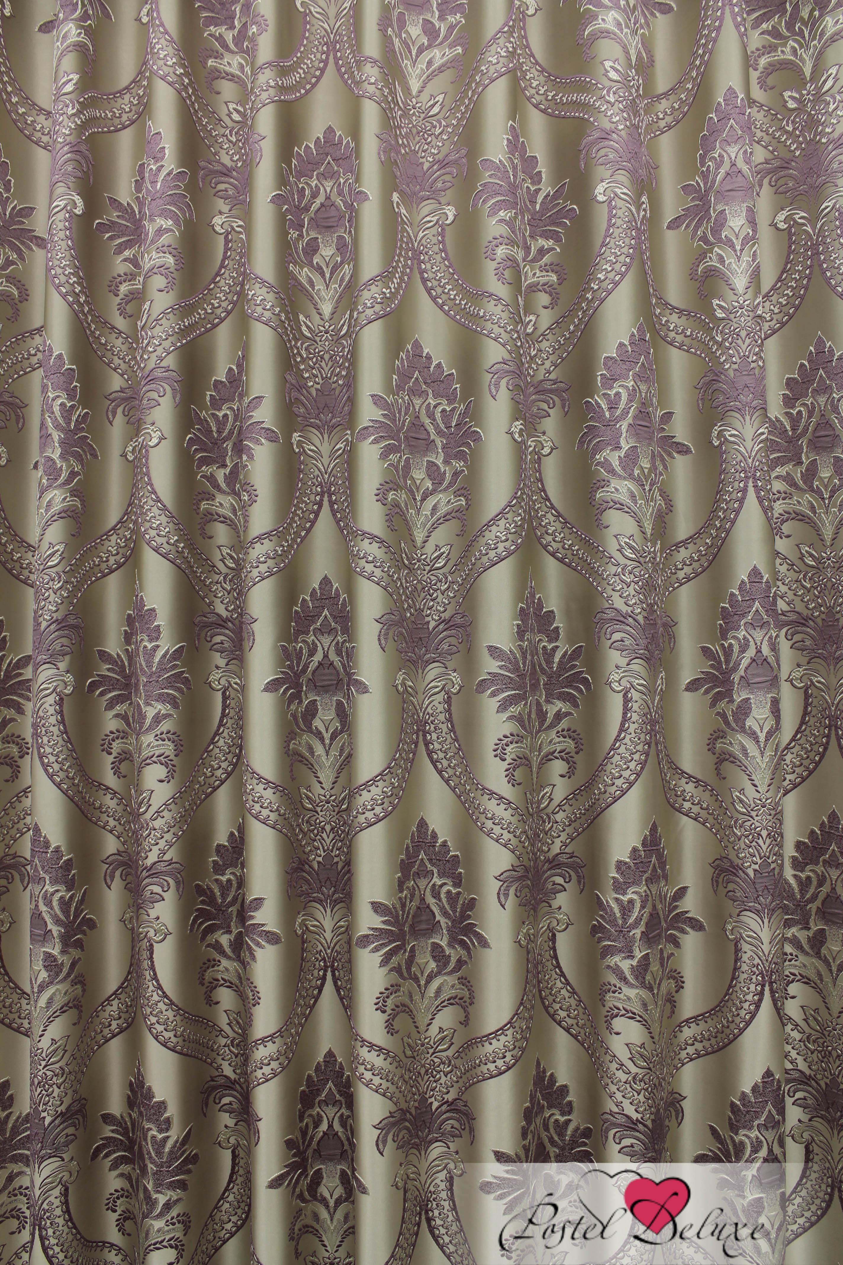 Шторы Sanpa Классические шторы Нанзия Цвет: Сиреневый шторы tac классические шторы winx цвет персиковый 200x265 см