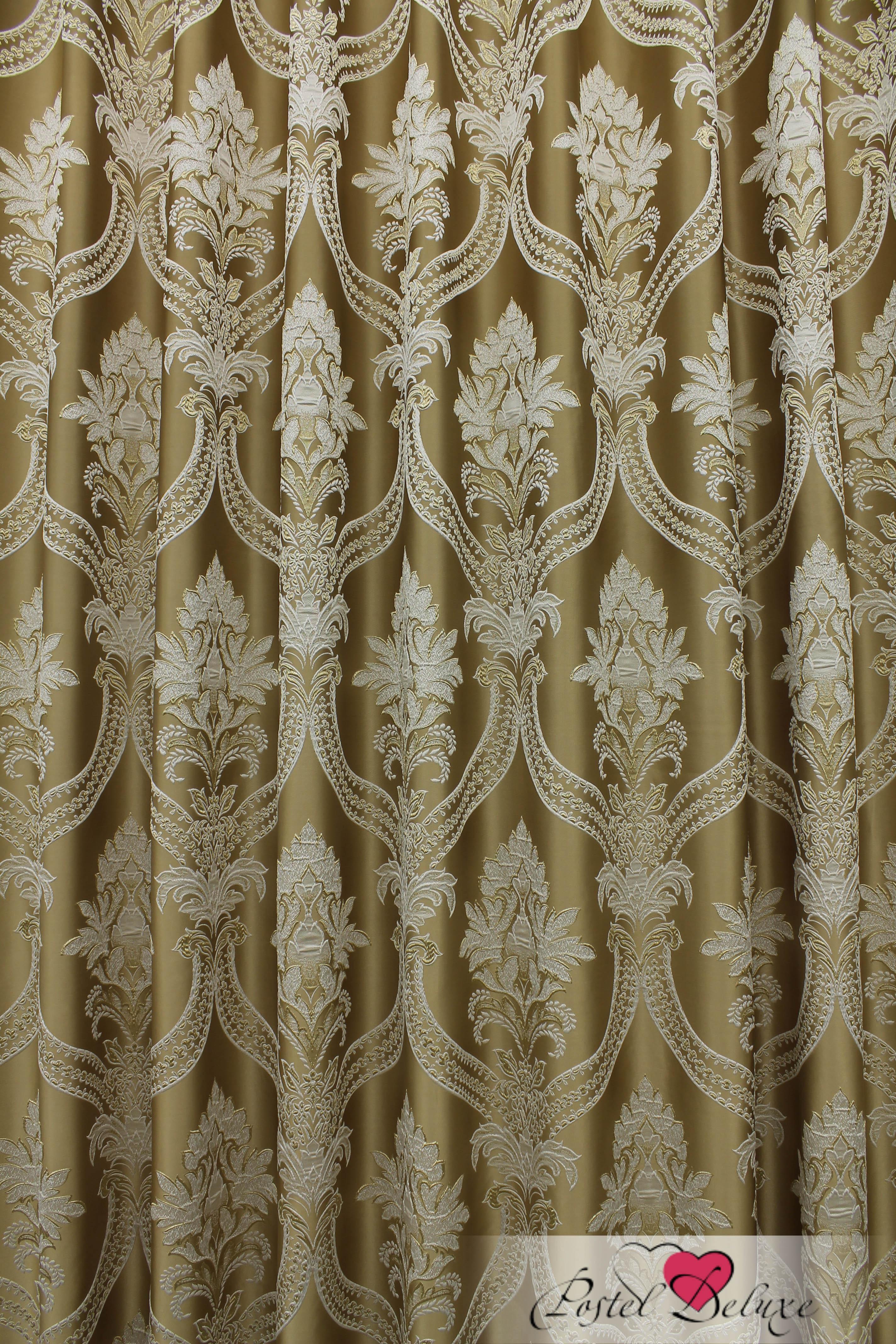 Шторы Sanpa Классические шторы Нанзия Цвет: Золотистый шторы tac классические шторы winx цвет персиковый 200x265 см