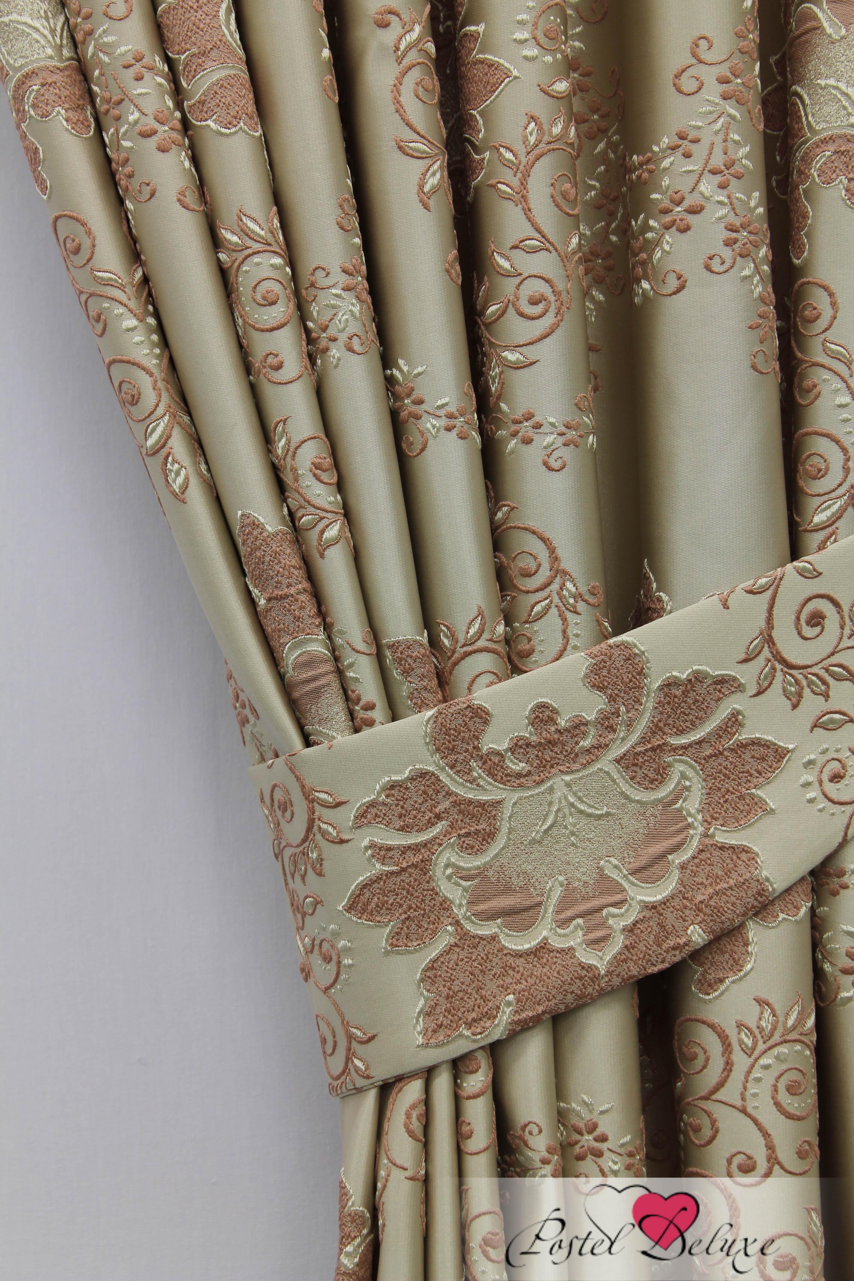 Шторы Sanpa Классические шторы Элина Цвет: Розовый шторы tac классические шторы глянец цвет портьер розовый цвет тюля белый с бежевой полоской