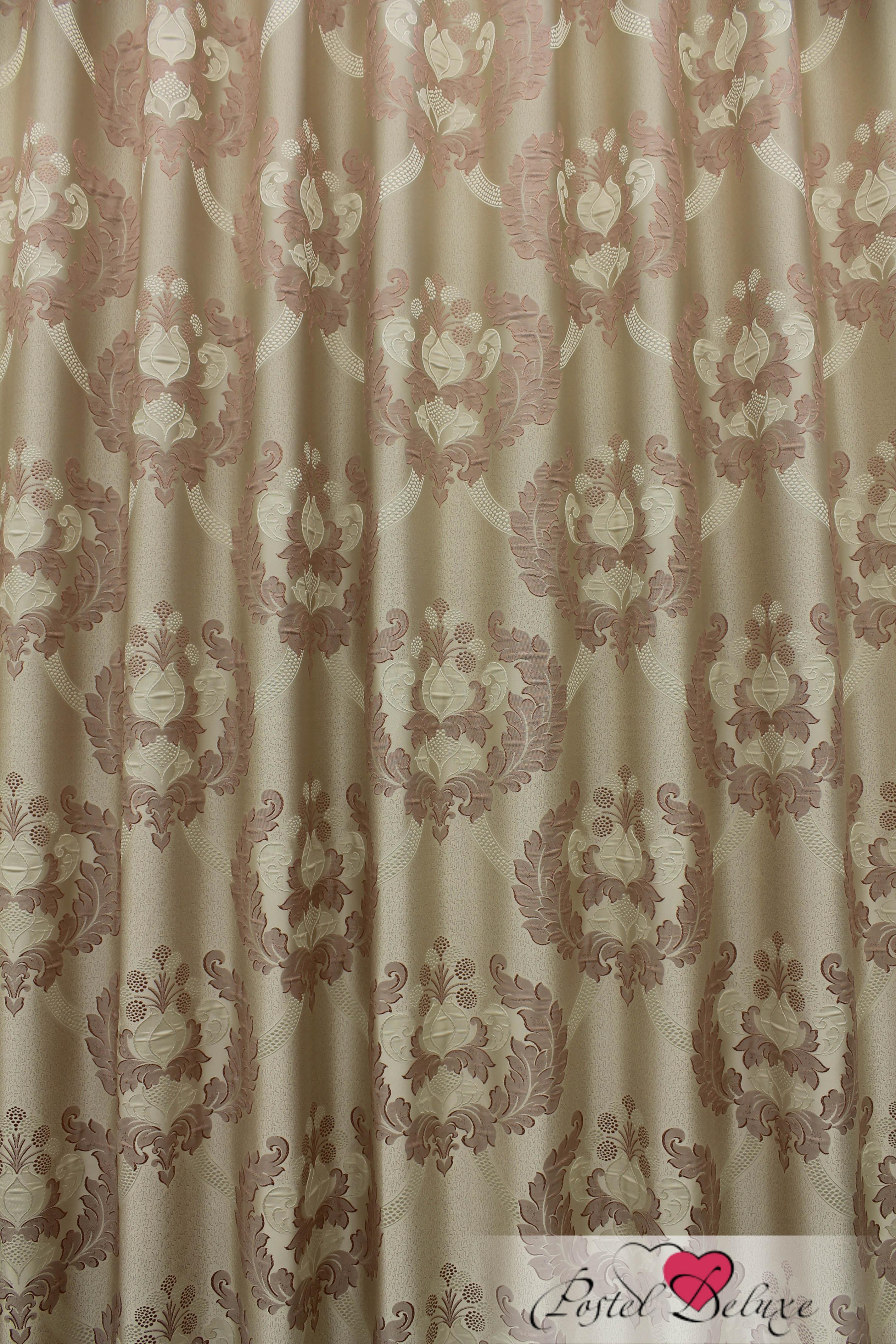 Шторы Sanpa Классические шторы Силвана Цвет: Розовый шторы tac классические шторы глянец цвет портьер розовый цвет тюля белый с бежевой полоской