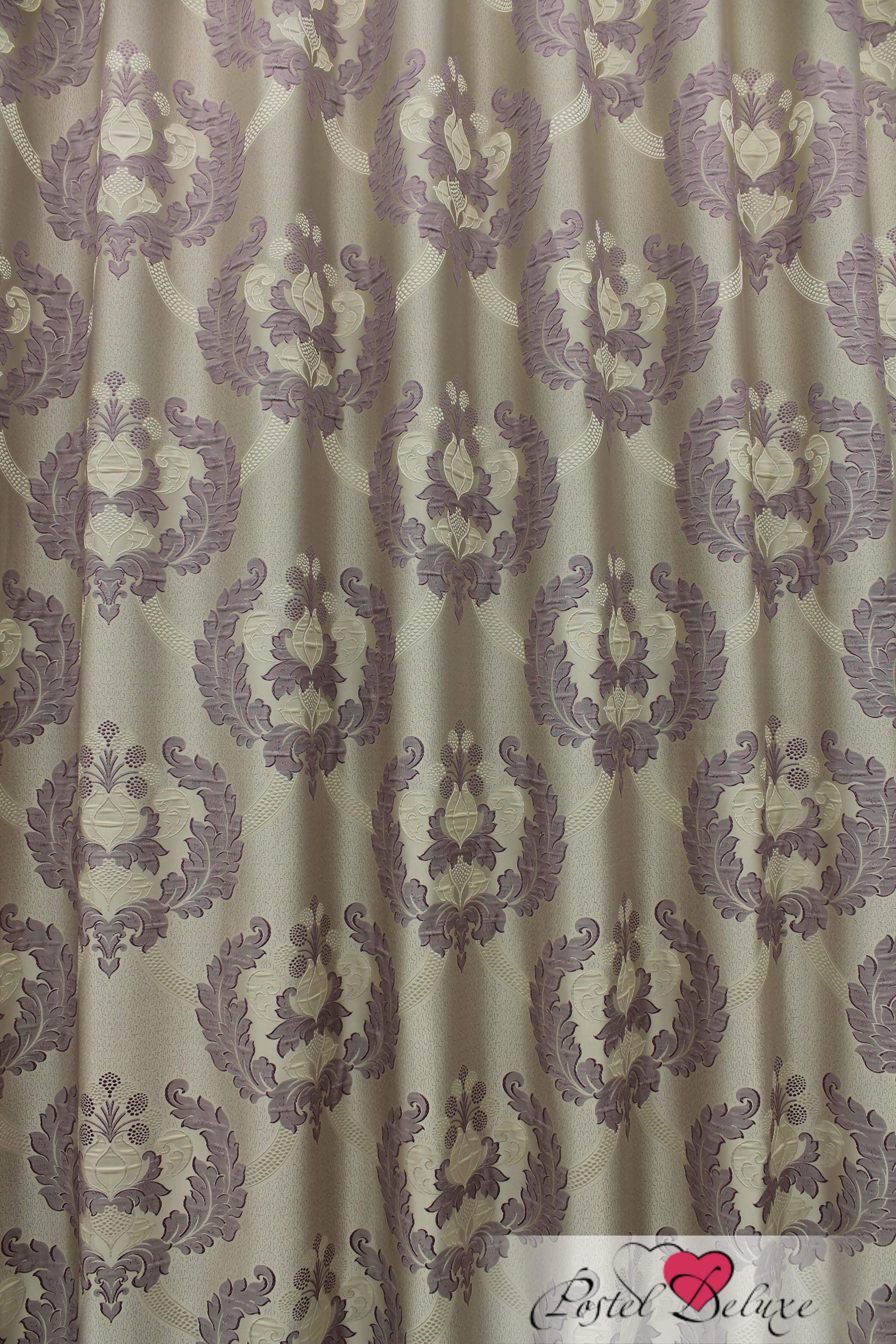 Шторы Sanpa Классические шторы Силвана Цвет: Сиреневый шторы tac классические шторы winx цвет персиковый 200x265 см