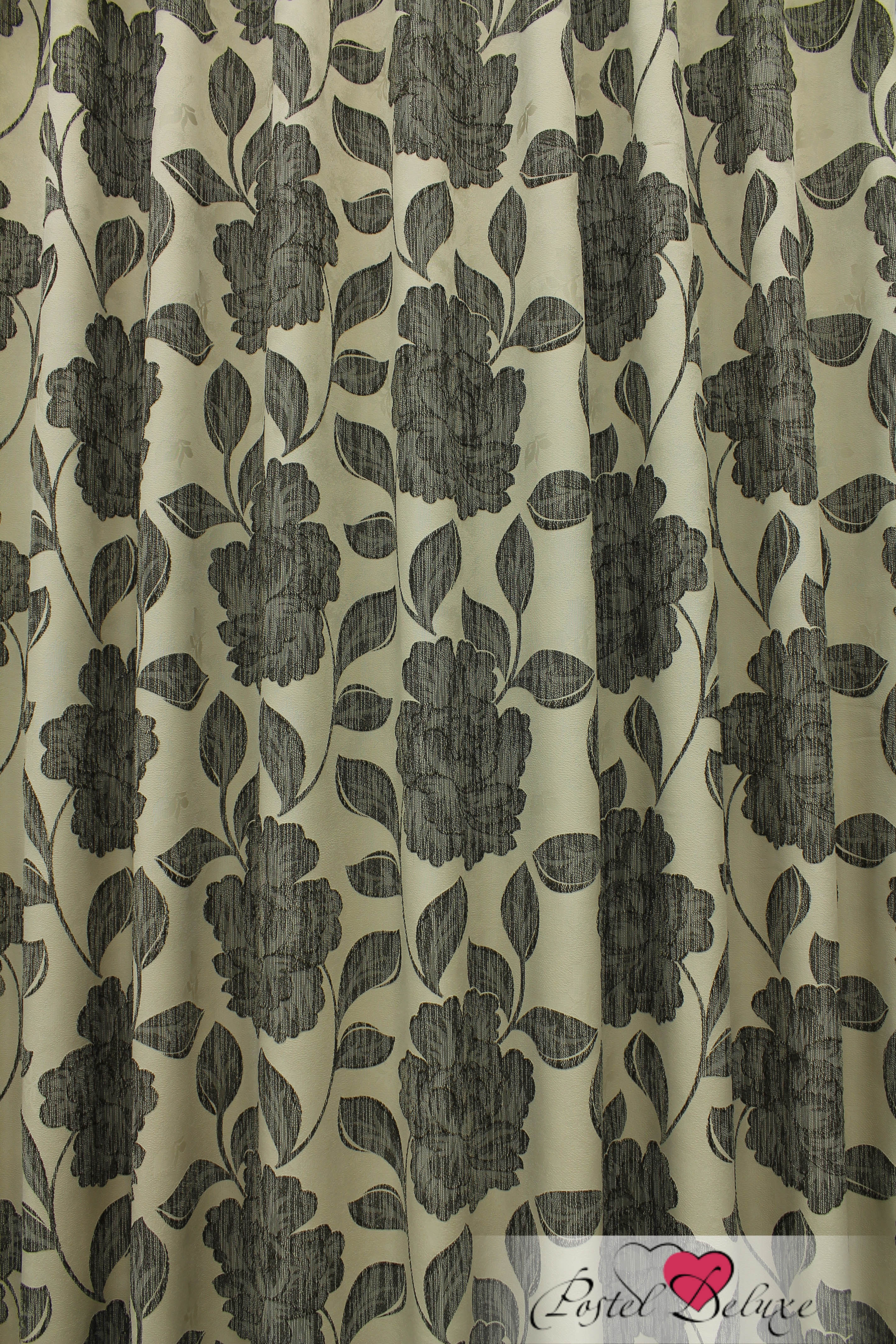купить Шторы Sanpa Классические шторы Асанта Цвет: Бежево-Коричневый дешево