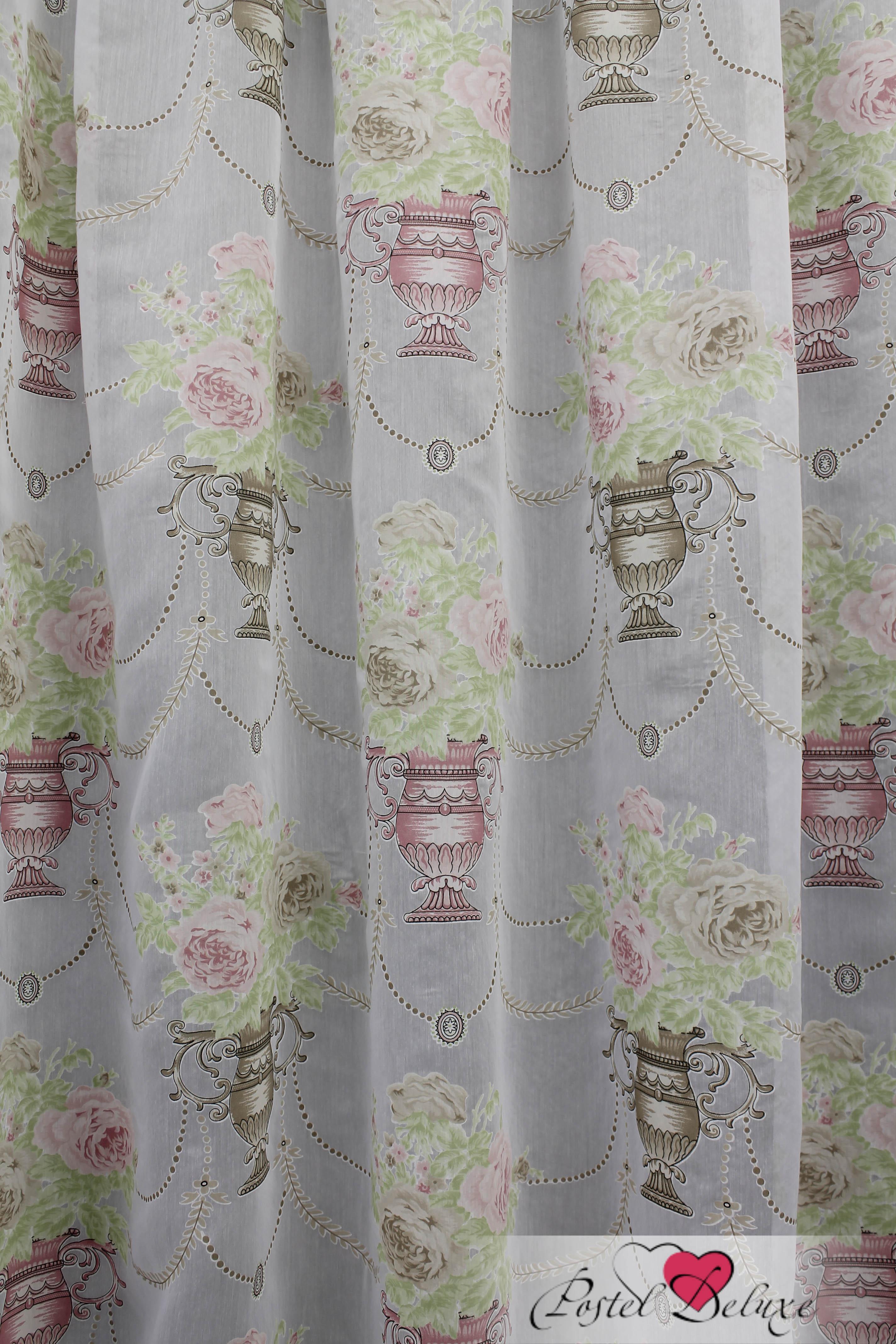 Шторы Sanpa Классические шторы Айсун Цвет: Розово-Салатовый шторы kauffort классические шторы barolo