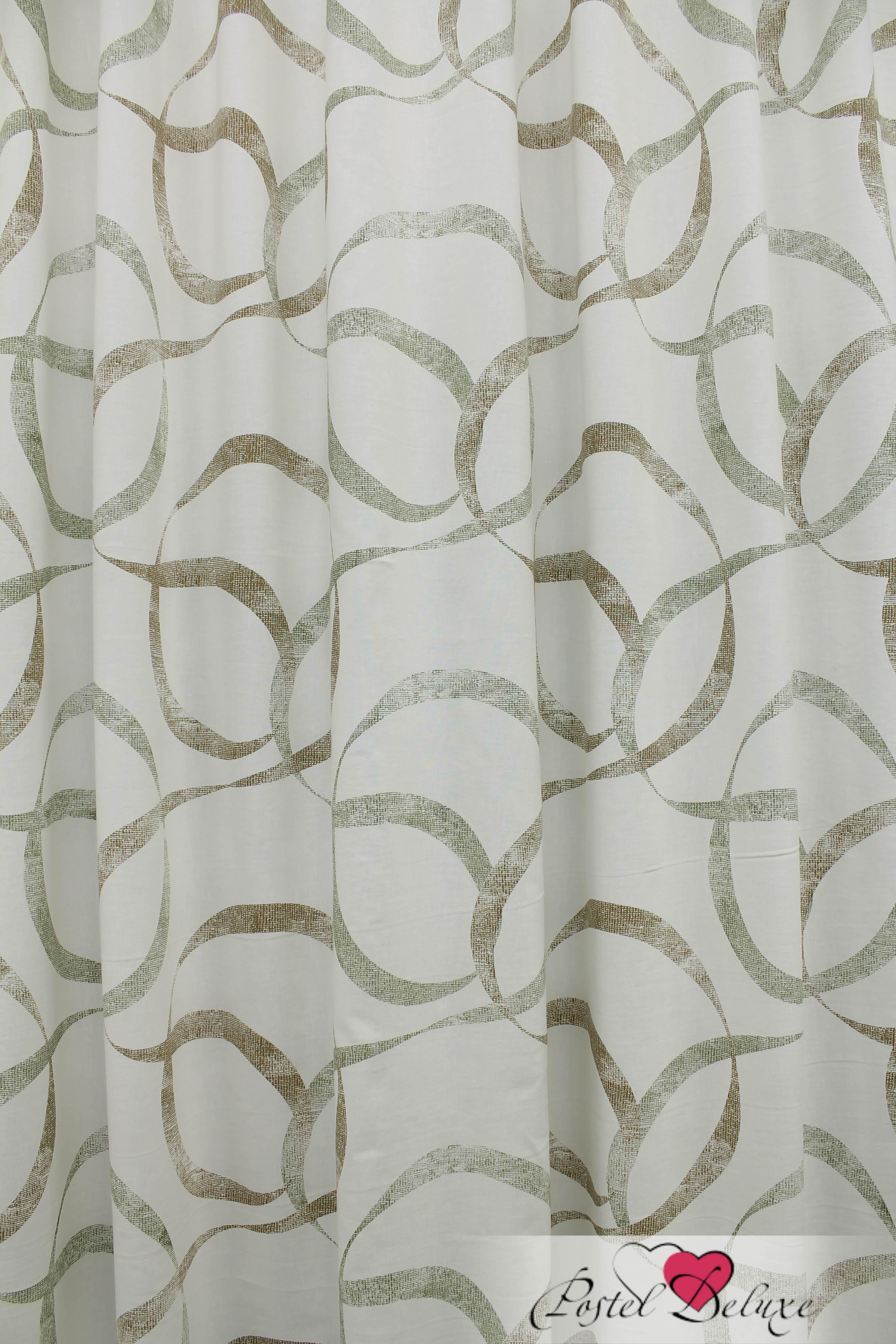 купить Шторы Sanpa Классические шторы Симона Цвет: Бежево-Зеленый дешево