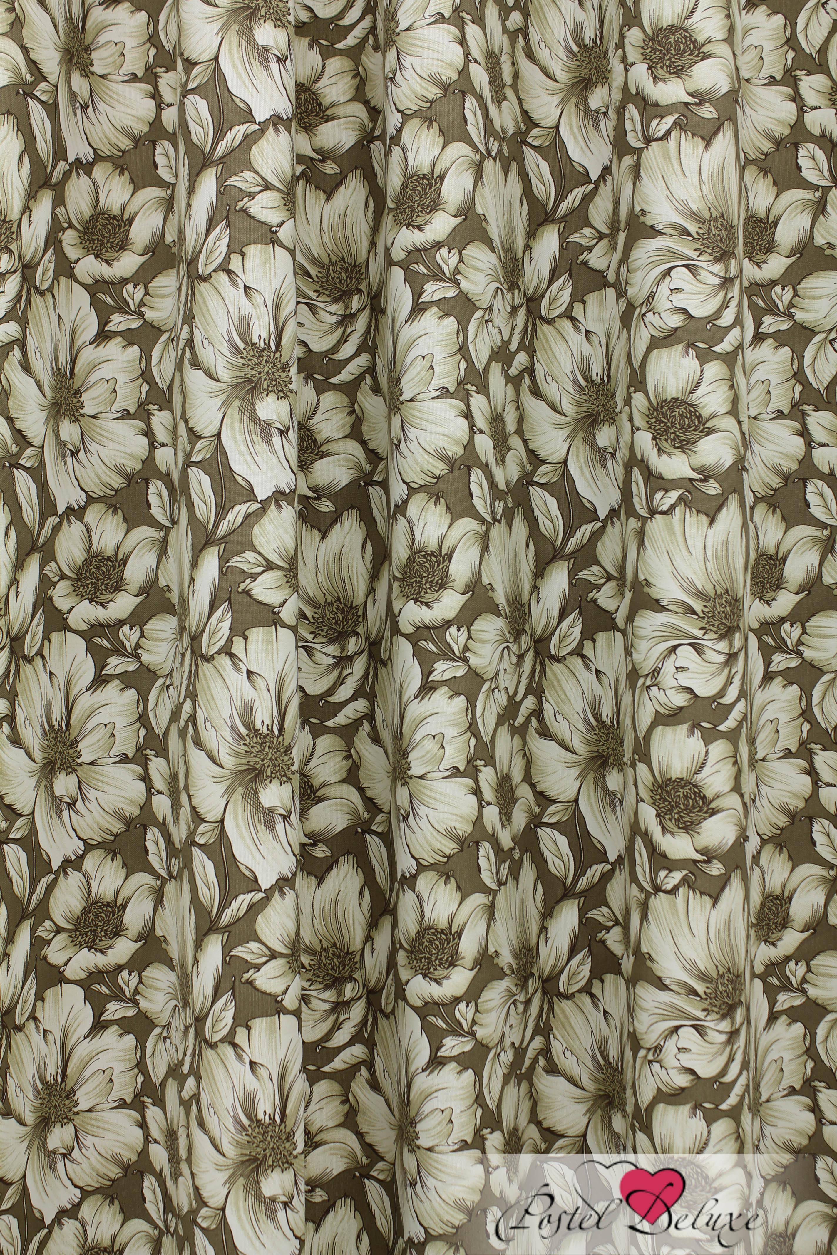 Шторы Sanpa Классические шторы Янита Цвет: Темно-Бежевый шторы tac классические шторы winx цвет персиковый 200x265 см