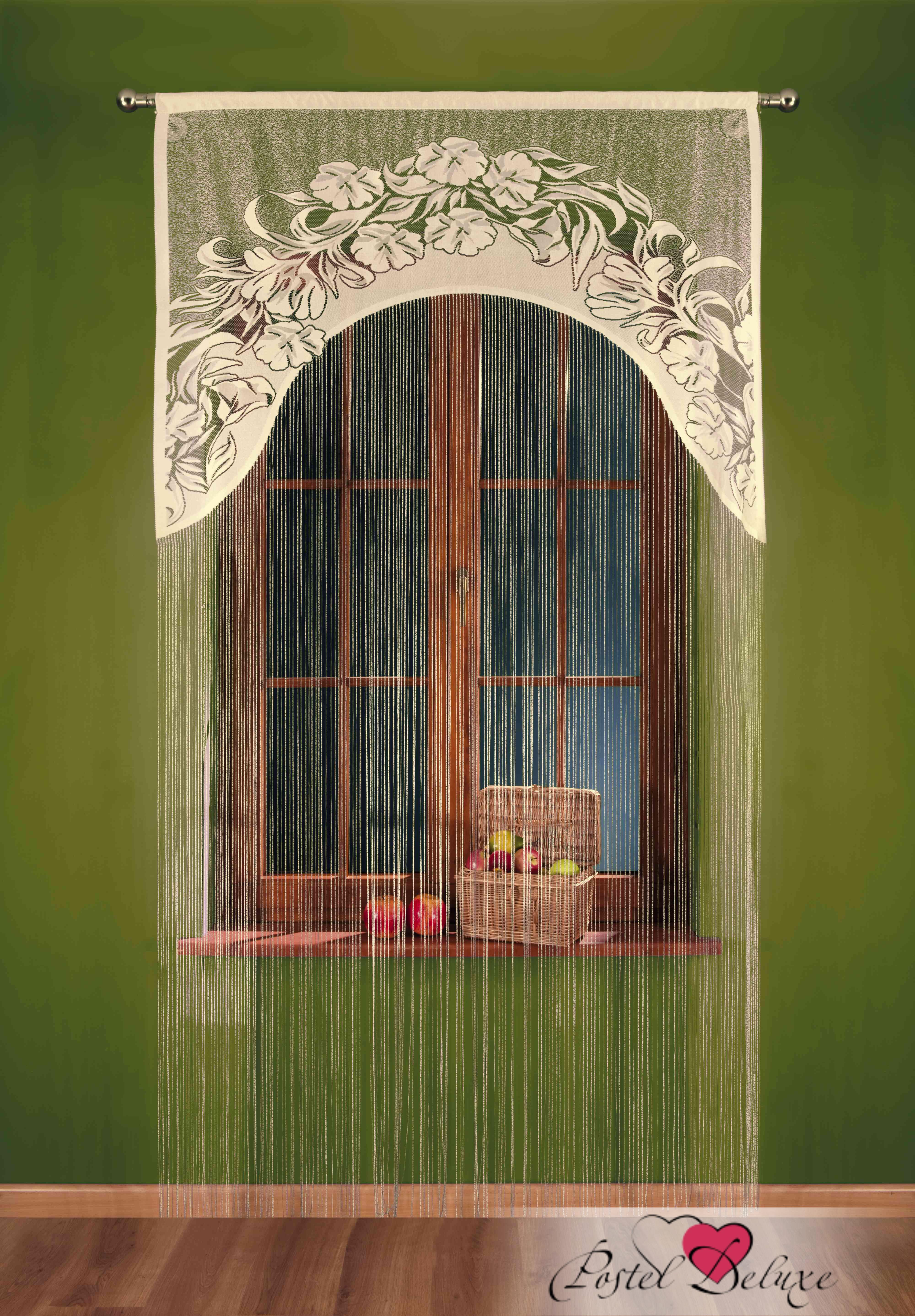 Шторы Wisan Нитяные шторыIvettaЦвет: Кремовый wisan wisan классические шторы melicent цвет кремовый