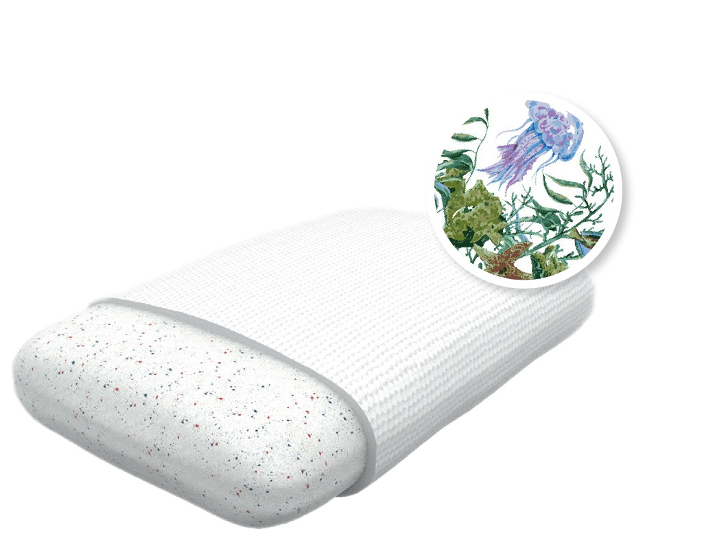 Подушки Revery Подушка Sea Voyage (M) подушки fabe высокая подушка с памятью формы memo classic 16