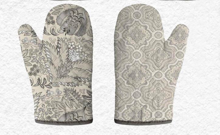 {} Романтика Прихватка-рукавичка Серебряный Век комплект для кухни фартук прихватка рукавичка