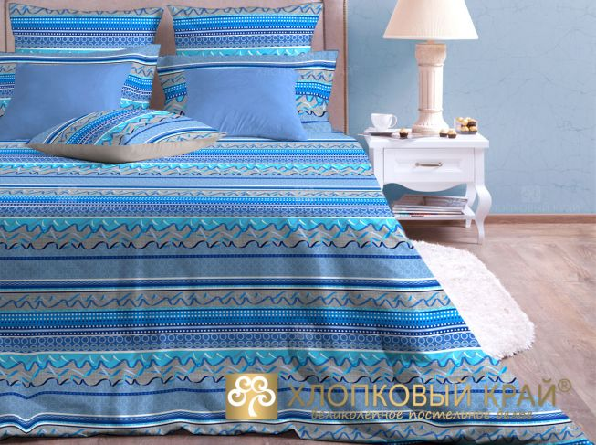 Постельное белье Хлопковый Край Постельное белье Серпантин (2 спал.)