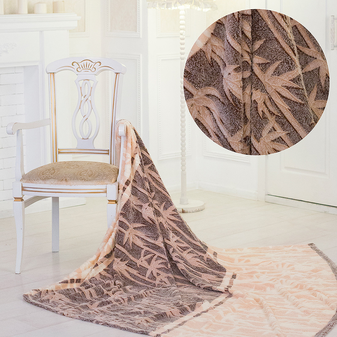 Плед Eleganta Плед Коричневый Бамбук (180х200) eleganta eleganta фотошторы блюз