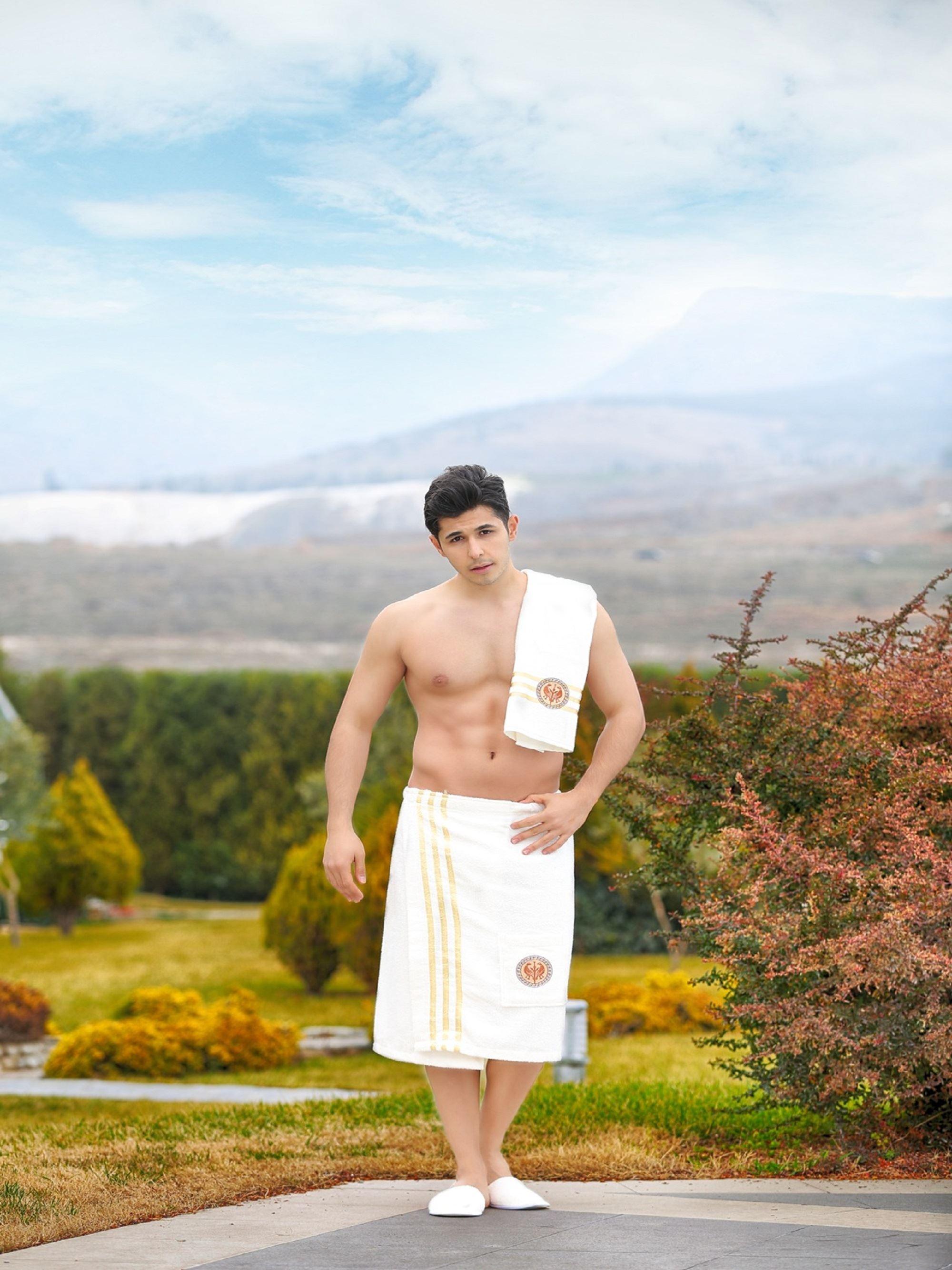 Сауны, бани и оборудование Philippus Набор для сауны Bruno Цвет: Кремовый сауны бани и оборудование valentini набор для сауны camomile цвет розовый