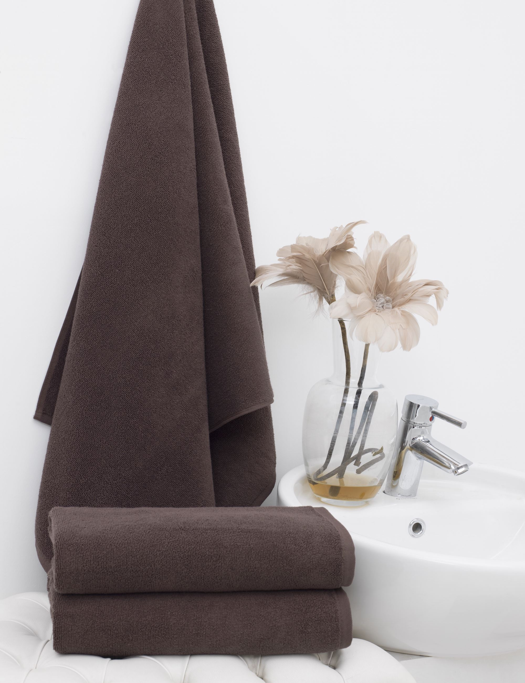 Полотенца Philippus Полотенце Vizyon Цвет: Шоколадный (50х90 см - 12 шт) полотенца philippus полотенце vizyon цвет шоколадный 50х90 см 12 шт
