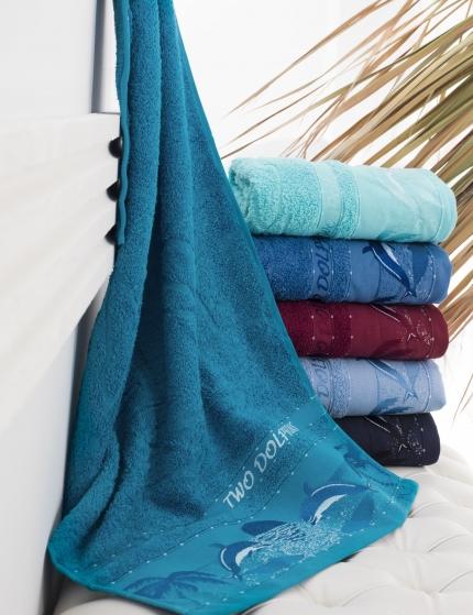 Полотенца Philippus Полотенце Dolphins (50х90 см - 6 шт) полотенца philippus полотенце vizyon цвет шоколадный 50х90 см 12 шт