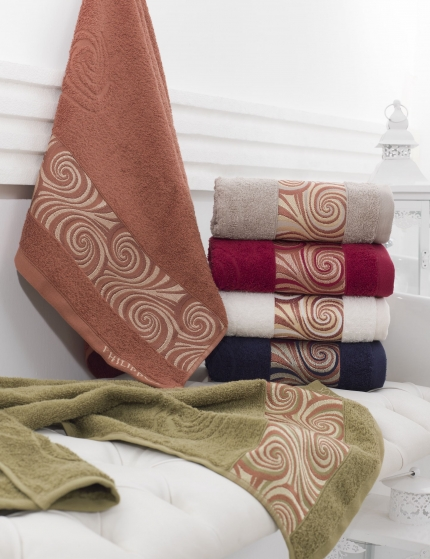 Полотенца Philippus Полотенце Kayra (50х90 см - 6 шт) полотенца philippus полотенце vizyon цвет шоколадный 50х90 см 12 шт