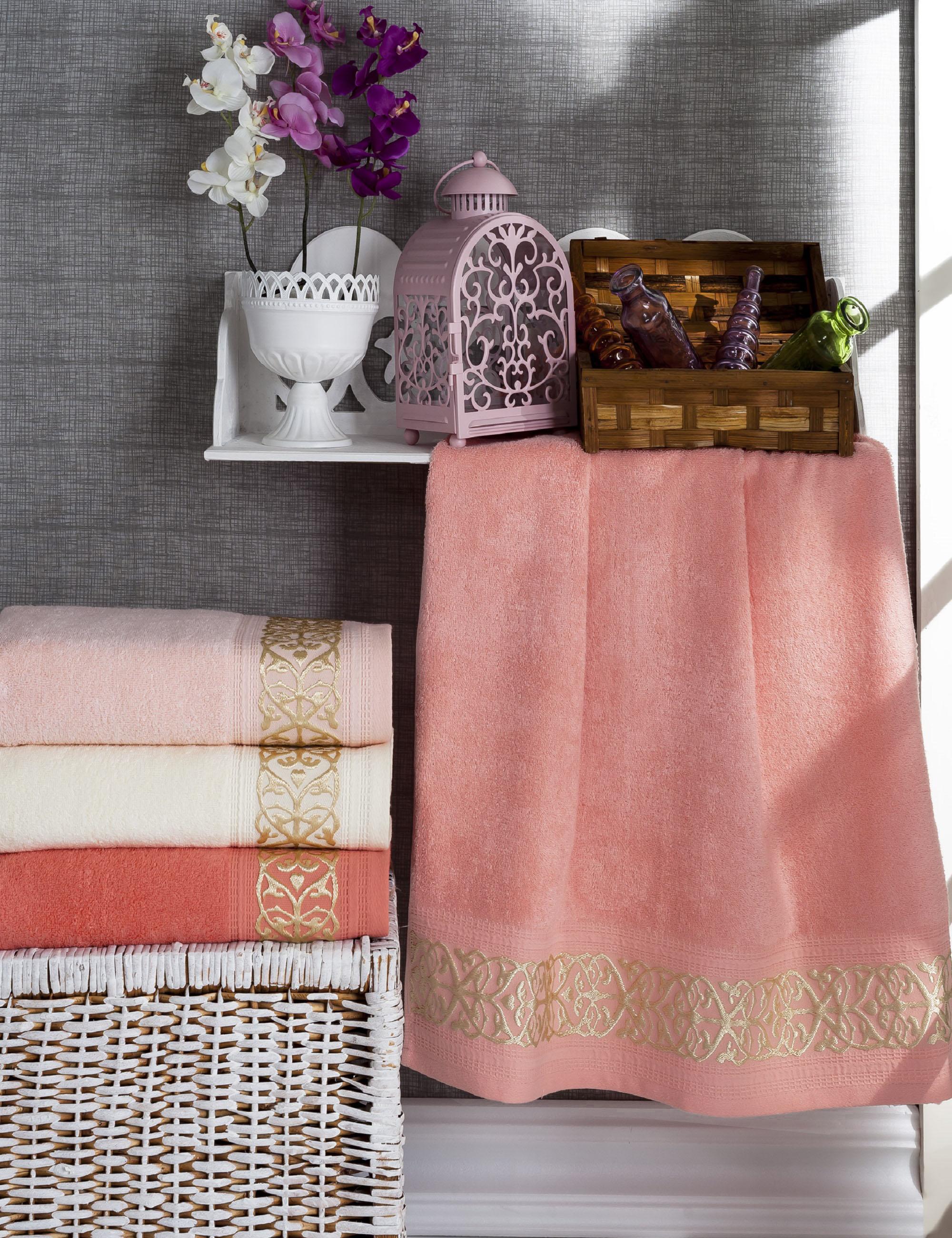 Полотенца DO'n'CO Набор Полотенец Selena (70х140 см - 4 шт) полотенца do n co набор полотенец clara 70х140 см 4 шт
