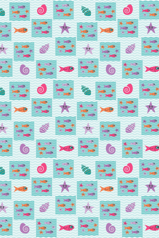 Шторы и карнизы для ванной StickButik Шторы для ванной Морское Разнообразие шторы и карнизы для ванной stickbutik шторы для ванной подводный мир