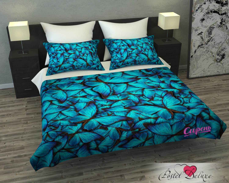 Покрывало Сирень Покрывало Голубые Бабочки (145х220 см) сирень бабочки