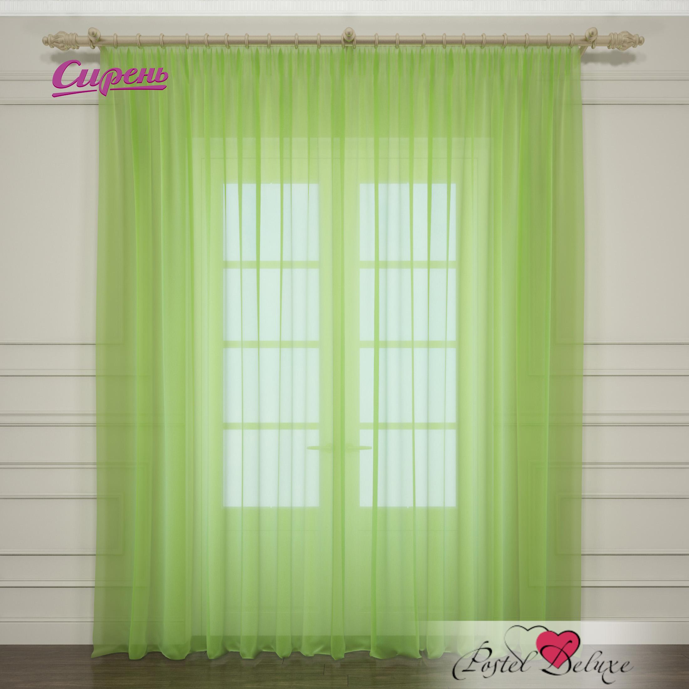 Шторы Сирень Классические шторы Однотонная Цвет: Зеленый шторы сирень классические шторы свирель