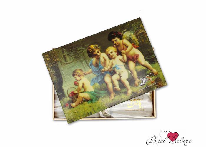 Скатерти и салфетки SL Скатерть Gianna(180x210 см.) + 6Салфетки (40х40 см) скатерти и салфетки подушкино скатерть henna 140х180 см