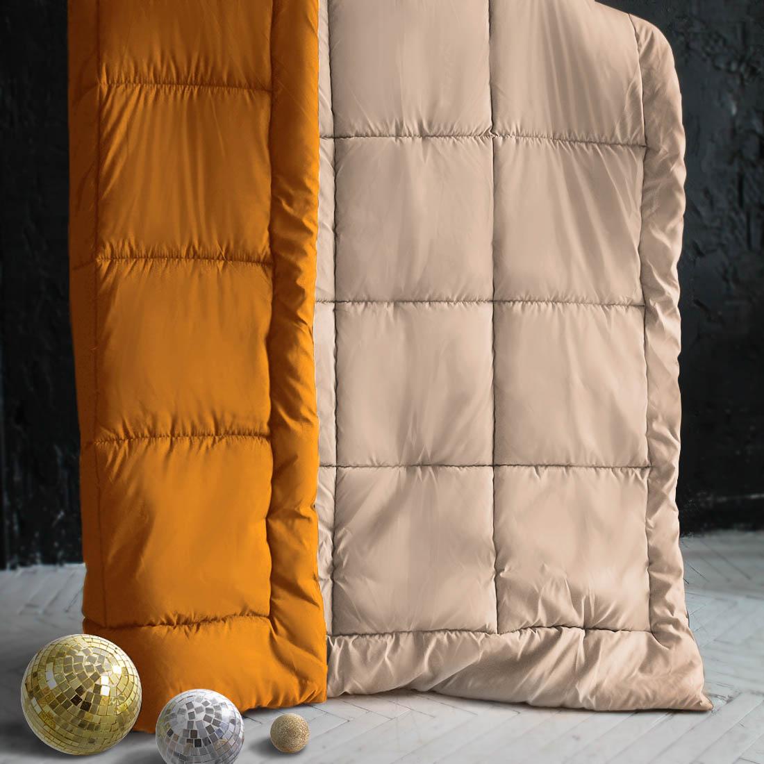 Одеяла Sleep iX Одеяло MiltiColorЦвет: Оранжевый/Бежевый (140х205 см) одеяло лэмби цвет бежевый 140 х 205 см