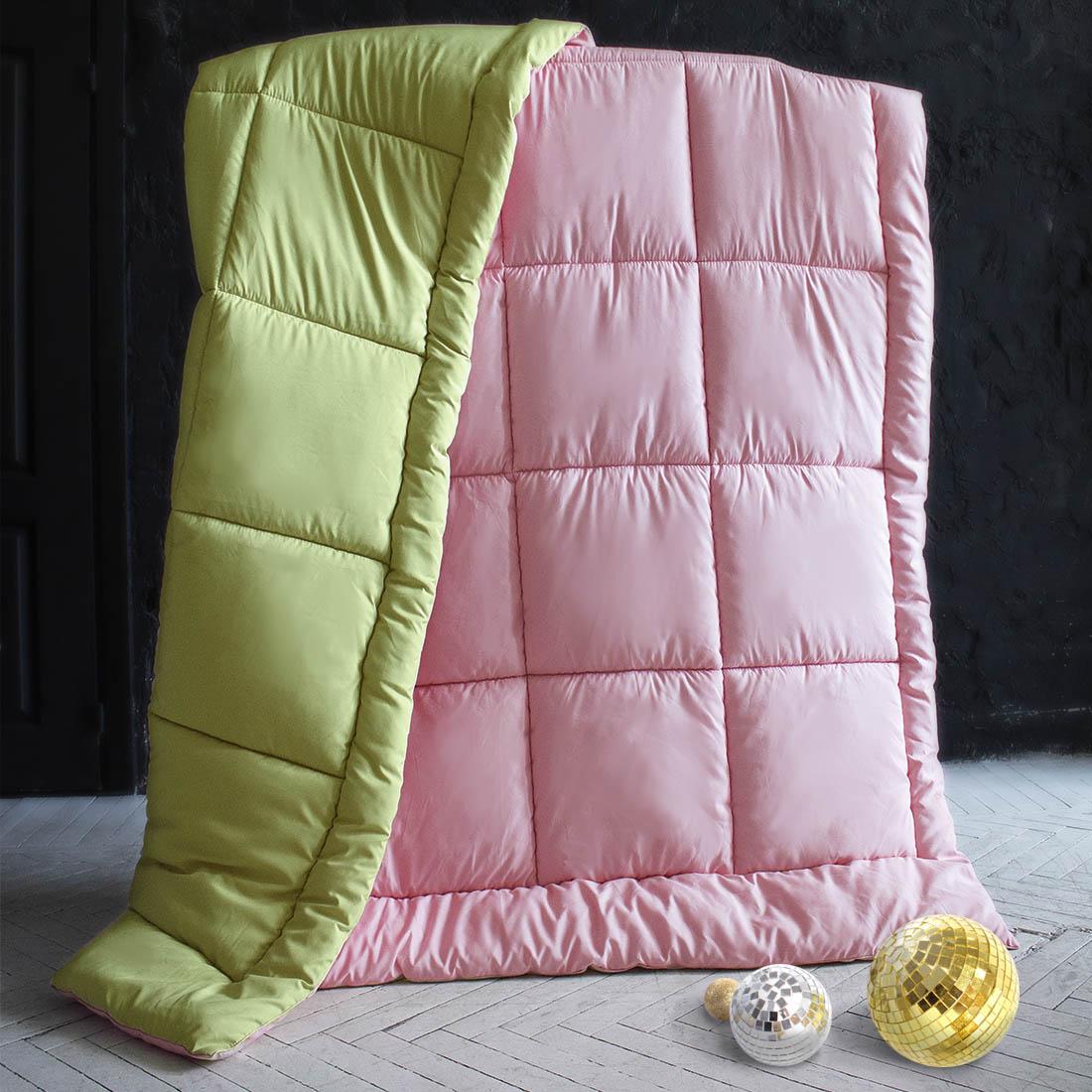 Одеяла Sleep iX Одеяло MiltiColorЦвет: Розовый/Салатовый (140х205 см) siemens lc 91 ba 582 ix