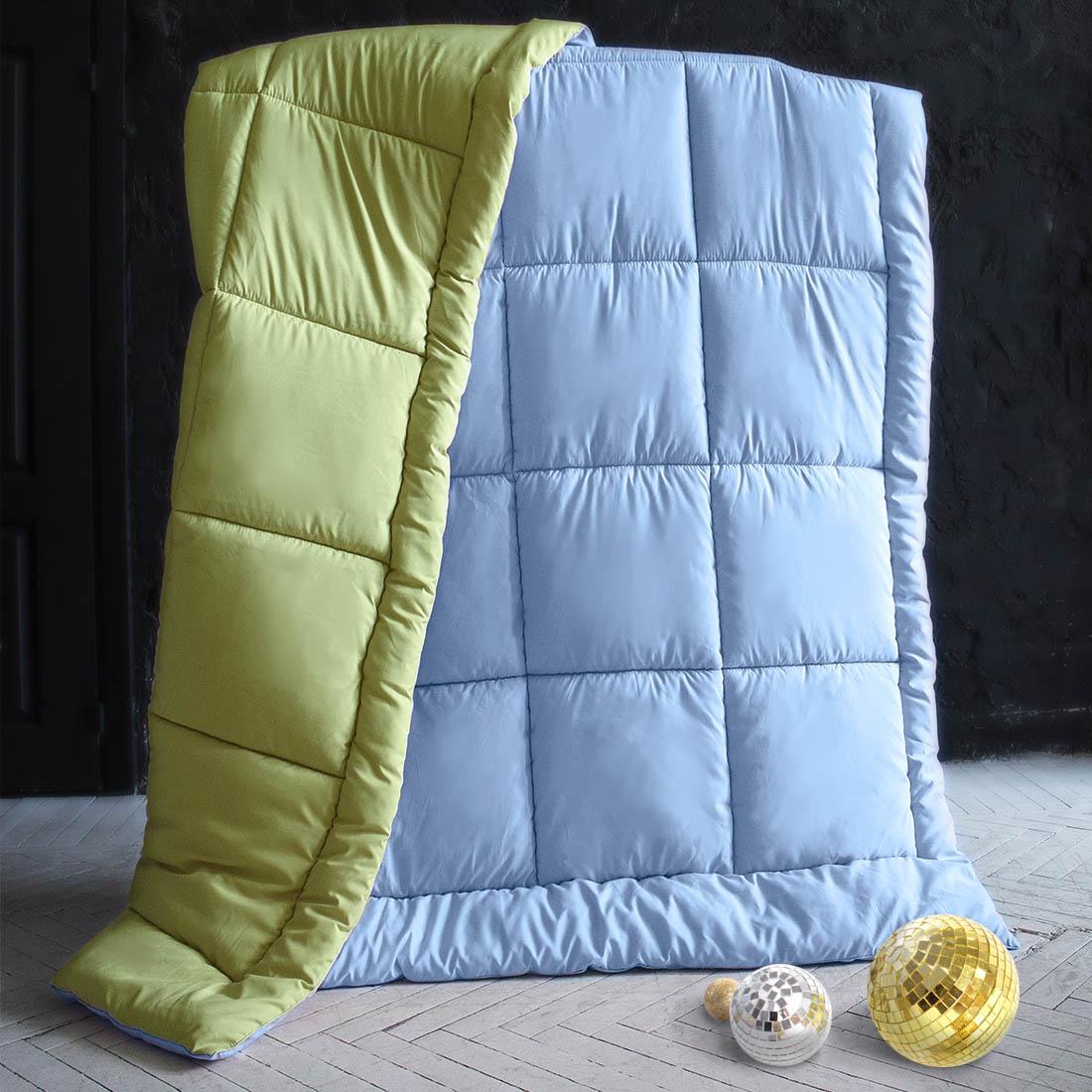 Одеяла Sleep iX Одеяло MiltiColorЦвет: Голубой/Салатовый (140х205 см) siemens lc 91 ba 582 ix