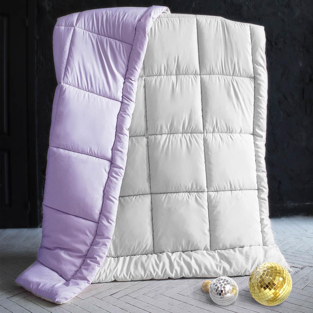 Одеяла Sleep iX Одеяло MiltiColorЦвет: Белый/Фиолетовый (175х205 см) siemens lc 91 ba 582 ix