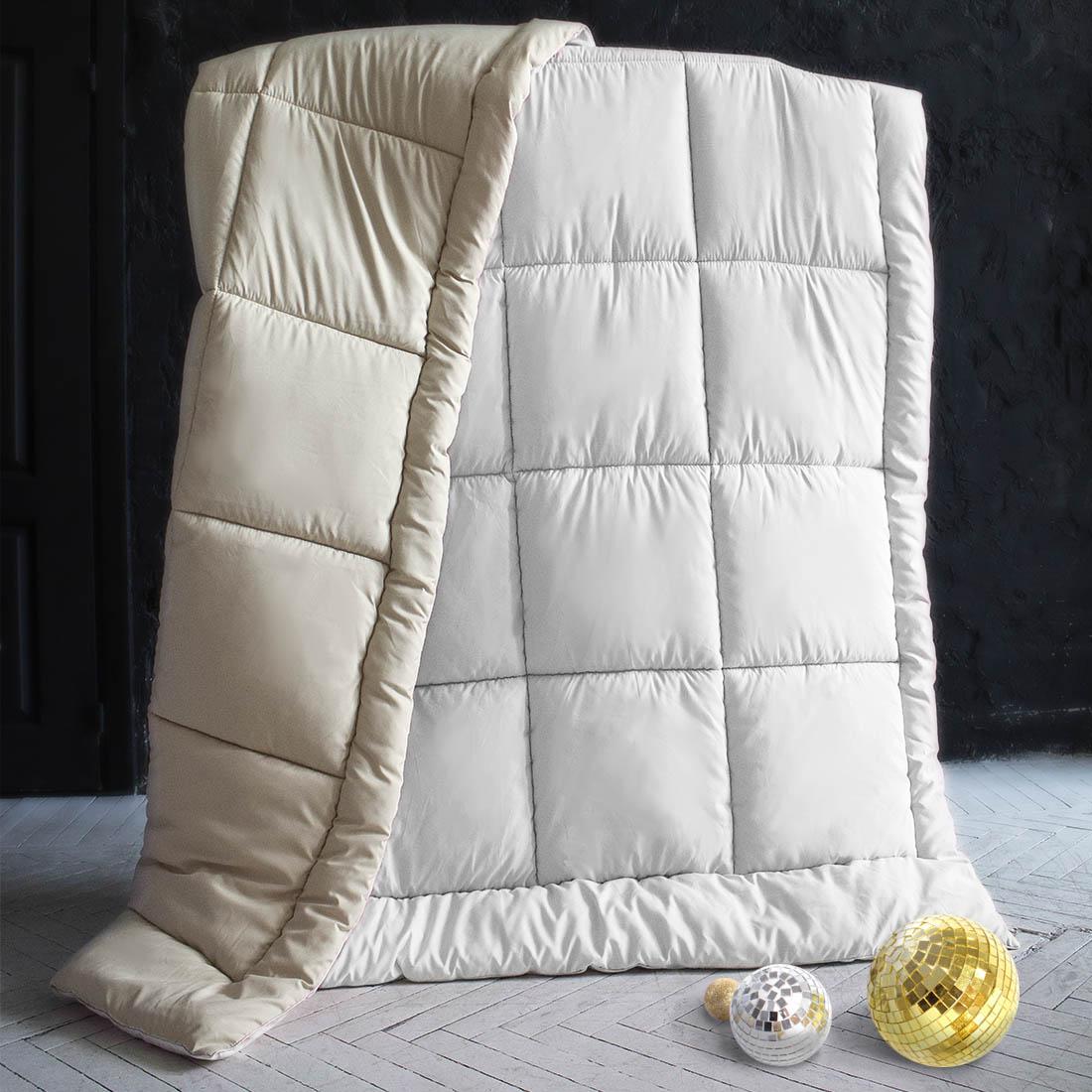 Одеяла Sleep iX Одеяло MiltiColorЦвет: Бежевый/Белый (140х205 см) одеяло лэмби цвет бежевый 140 х 205 см