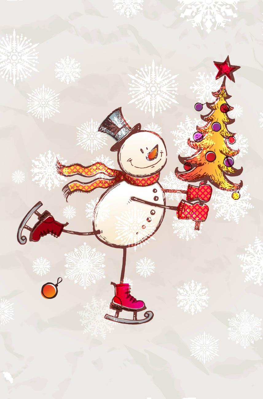 Детские покрывала, подушки, одеяла StickButik Детское покрывало Снеговик (145х220 см)