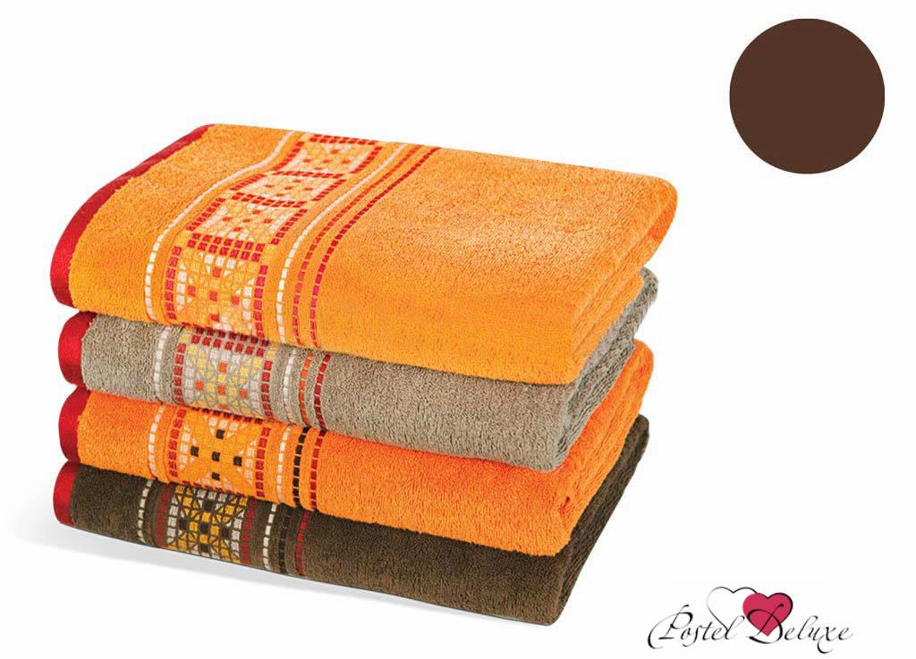Полотенца Soavita Полотенце Star Цвет: Коричневый (70х140 см) полотенце кухонное soavita цвет коралловый диаметр 65 см 48800