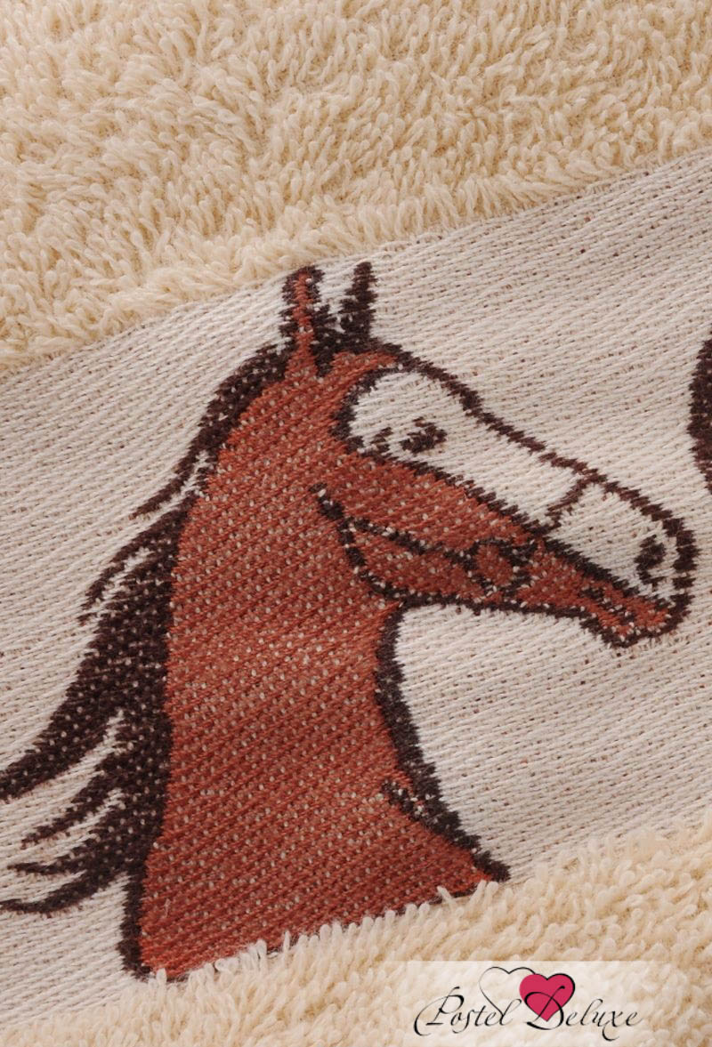 Полотенца Soavita Полотенце Лошади Цвет: Бежевый (48х80 см) полотенца soavita полотенце селсо цвет розовый 50х90 см