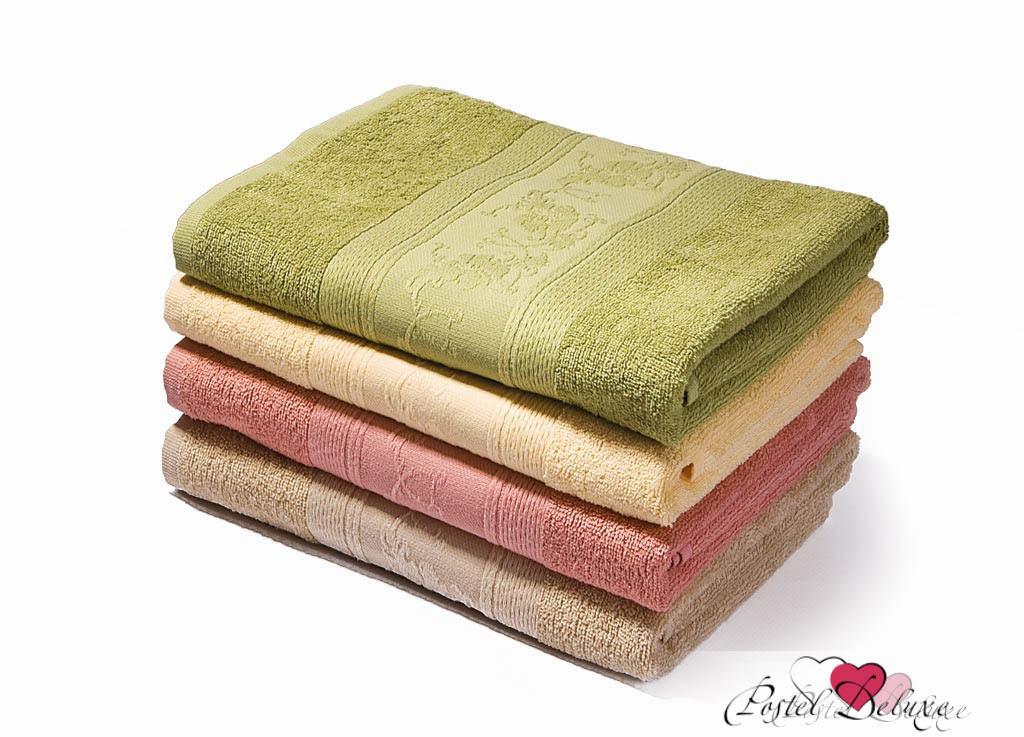 где купить Полотенца Soavita Полотенце Цветы Цвет: Бежевый (50х70 см) по лучшей цене