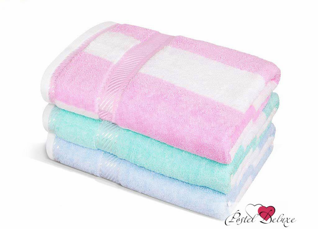 Полотенца Soavita Полотенце Полосы Цвет: Розовый (65х135 см) полотенце кухонное soavita цвет коралловый диаметр 65 см 48800