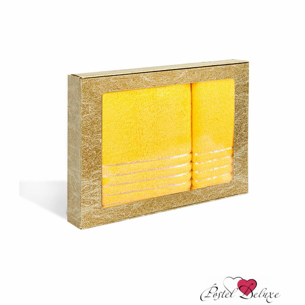 Полотенца Soavita Полотенце Olivia Цвет: Желтый (Набор) набор из 3 полотенец merzuka sakura 50х90 2 70х140 8432 терракотовый