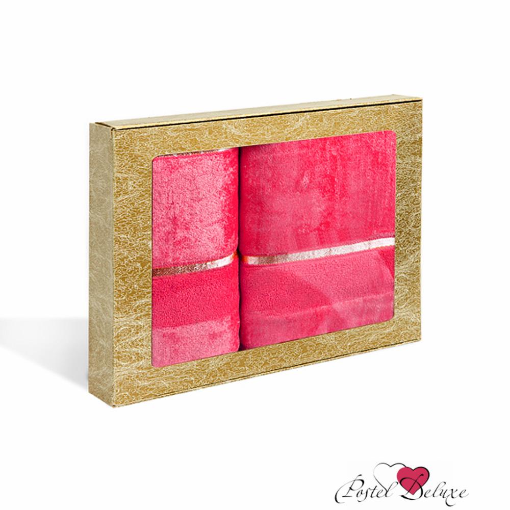 Полотенца Soavita Полотенце Louise Цвет: Фуксия (Набор) полотенца soavita полотенце селсо цвет розовый 50х90 см