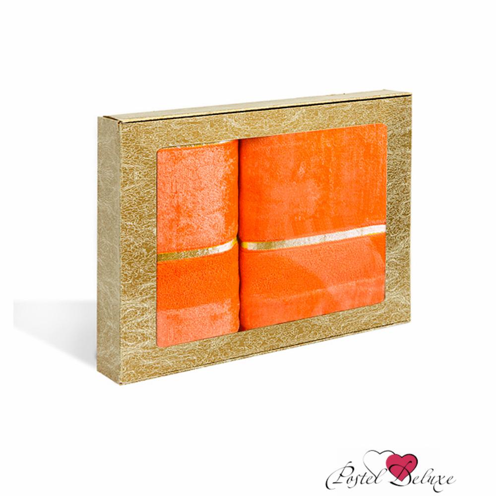 Полотенца Soavita Полотенце Louise Цвет: Оранжевый (Набор) набор из 3 полотенец merzuka sakura 50х90 2 70х140 8432 оранжевый