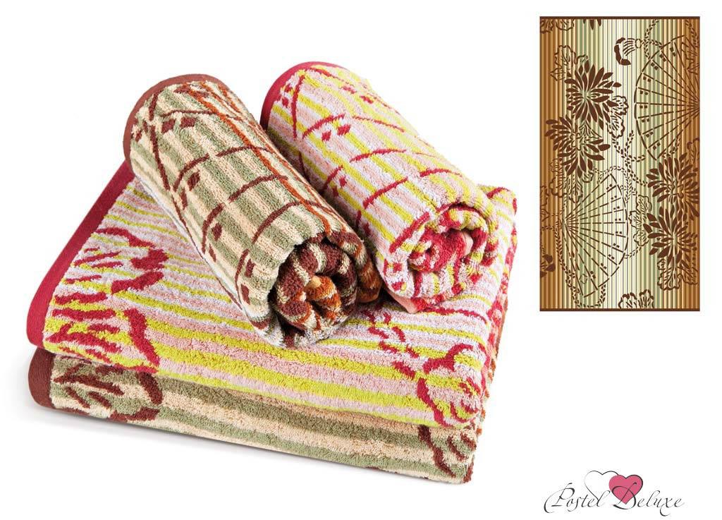 полотенце soavita premium веер цвет белый красный желтый 45 х 90 см Полотенца Soavita Полотенце Lakeshia Цвет: Бежевый (45х90 см)