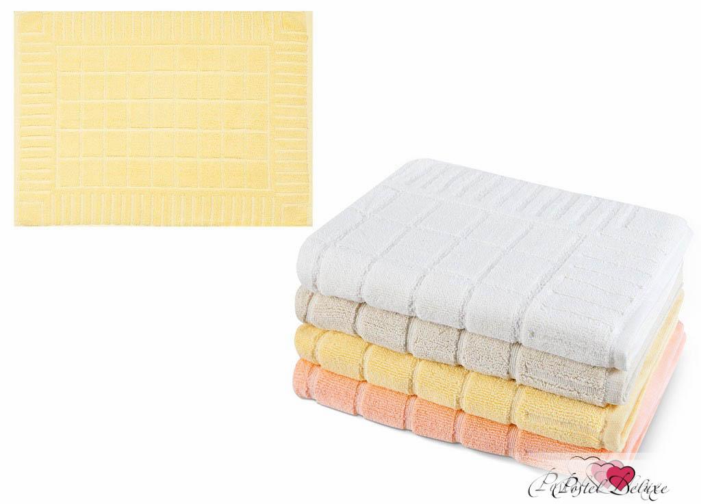где купить Полотенца Soavita Полотенце Добби Цвет: Желтый (50х70 см) по лучшей цене