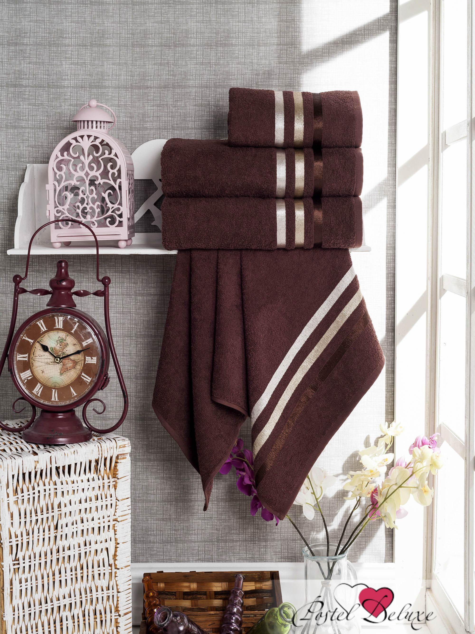где купить Полотенца Sokuculer Набор Полотенец Vevien Цвет: Шоколадный по лучшей цене