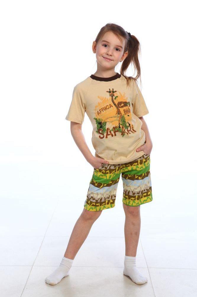 Детская домашняя одежда Pastilla Детский костюм Жираф (6-7 лет) детский костюм озорного клоуна 34